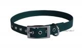 BioThane Halsband dunkelgrün
